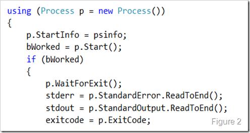 c# process beginoutputreadline waitforexit doesnt wait